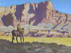 Morning at Marble Canyon by Mark Fehlman Oil ~ 12 x 16