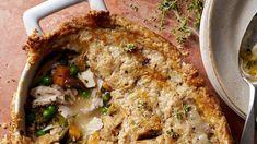 Martha Stewart burnt chicken potpie with burnt butter pastry