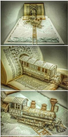 Book Art - Paper