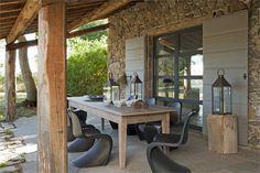 Terrasse couverte- 25 idées sur lauvent en bois et la pergola