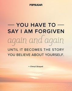 Cheryl Strayed on forgiveness
