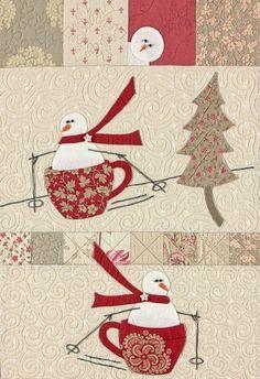 inspiration snowmen in mugs http://www.liveinternet.ru/users/4334733/post287798791/