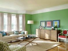 Enchanting Living Room Paint Colors, For a living room to be a Enchanting Living Room Paint Colors, it should truly feel warm and inviting. Painting the living room is a massive investmen. Living Room Green, Green Rooms, Interior Design Living Room, Living Room Designs, Living Room Decor, Living Rooms, Interior Designing, Interior Walls, Color Interior
