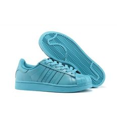 half off 3e96d 1fa0e UomoDonna Adidas Originals Superstar Supercolor PHARRELL WILLIAMS Scarpe  Vivid Mint S41822
