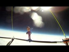 DogCamSport flies to the edge of space 110,000ft on a balloon! - YouTube
