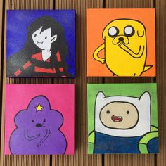 Adventure time canvases