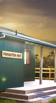 A new DOC hut on Mt Pirongia