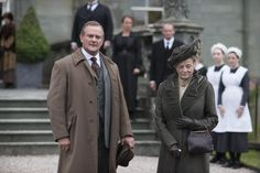 Downton Abbey Christmas Special 2012 - Hugh Bonneville and Maggie Smith