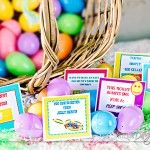 Easter Egg bedroom notes for hubby