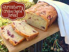 Simple Fare, Fairly Simple: Strawberry Cream Cheese Bread