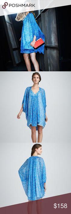 Diane Von Furstenberg fleurette dress Brand new! Fits very loose. Good for someone taller Diane von Furstenberg Dresses