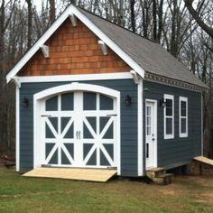 Build A Storage Shed For Your Firewood - Shed Plans Backyard Sheds, Outdoor Sheds, Garden Sheds, Shed Storage, Built In Storage, Firewood Shed, Outdoor Buildings, Garage Shed, Garage Plans