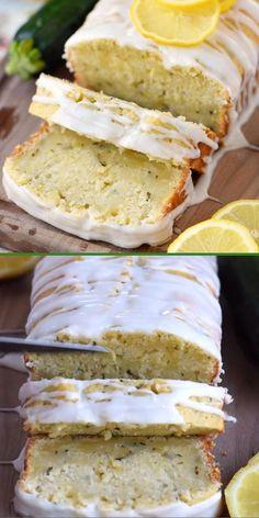 Cheesy Recipes, Sweet Recipes, Lemon Zucchini Cakes, Baking Recipes, Dessert Recipes, Amazing Food Videos, Zuchinni Recipes, Twisted Recipes, Scones