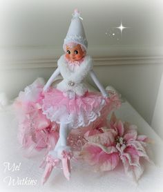 Pink & White Elves will be in my Etsy store MyLittlePinkShop from October 31st <3