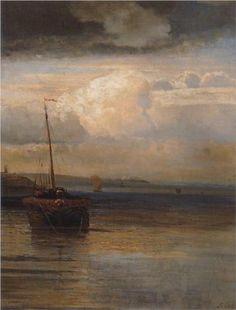 Volga. Landscape - Aleksey Savrasov