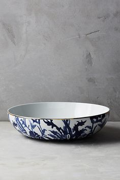 Discover unique Serveware & Entertaining products at Anthropologie, including the seasons newest arrivals. Shop serving platters, dishes, and pitchers. Anthropologie, Salad Bowls, Fruit Bowls, Paint Chips, Finding A House, Fine Porcelain, Ceramic Plates, Serving Platters, Home Accessories