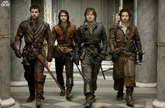 The Musketeers...hot men clad in leather, sword fighting....Any woman in her right mind should be watching this show. ;D