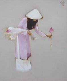 Risultato immagine per nguyen thanh binh art Japanese Haiku, Japanese Art, Chinese Painting, Chinese Art, Illustrations, Illustration Art, Art Asiatique, Figure Painting, Geisha