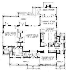 Allison Ramsey Architects | Floorplan for Coffee Bluff - 3622 ...