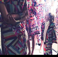 Pin for Later: Step Inside Chanel's Rainbow-Colored Cruise Collection  Chanel runway fixture Hudson Kroenig blended right in backstage.