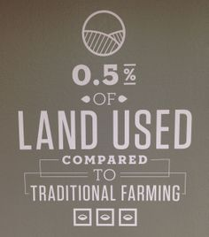 Sustainable farming keeps food local and preserves our natural resources. #ag #indoorag #farming #foodsecurity