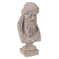 Howard Elliott Ancient Greek Philosopher Oversized Ceramic Bust Tall Ceramic Ceramic Home Decor Accents Sculpture Greek Statues, Framed Fabric, Outdoor Garden Furniture, Ancient Greek, Decorative Objects, Accent Decor, Lion Sculpture, Ceramics, Artist