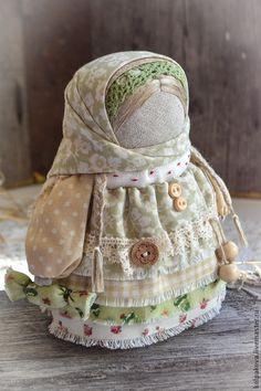 """куколка Девочка с конфетой """"Фисташковая"""". - бежевый,фисташковый,конфетная куколка"""