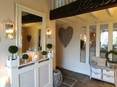 Converted Barn hallway .... Cottage Living, My Living Room, Cottage Shabby Chic, Amazing Decor, Interior Decorating, Interior Design, Home Upgrades, Love Home, Soft Furnishings