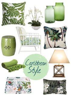 32 Trending Decorative Lamp To Inspire Today - Home Decoration Experts Tropical Bedroom Decor, Tropical Bedrooms, Tropical Interior, Tropical Decor, Coastal Decor, Coastal Style, Caribbean Decor, Caribbean Homes, Estilo Tropical
