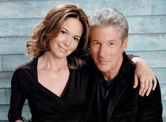 Diane Lane & Richard Gere as Dr. Grace Trevelyan-Grey & Carrick Grey in Fifty Shades of Grey