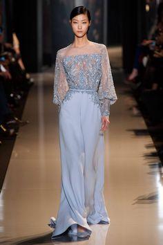 Fashion Show: Elie Saab Haute Couture Spring 2013 часть) Elie Saab Couture, Elegant Dresses, Pretty Dresses, Beautiful Dresses, Vestidos Elie Saab, Couture Fashion, Runway Fashion, Fashion Fashion, Fashion Week