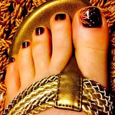 Fall Toe Nails, Purple Toe Nails, Purple Toes, Pretty Toe Nails, Toe Nail Color, Cute Toe Nails, Summer Toe Nails, Toe Nail Art, Work Nails