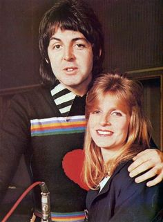 Paul McCartney and his wife Linda Eastman. My Love Paul Mccartney, Paul Mccartney And Wings, Linda Eastman, The Quarrymen, Delta Blues, Sir Paul, Phil Collins, The Fab Four, Famous Couples