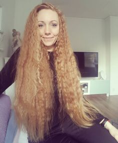 Sometimes when you go big, you go really big! *braidsaregone*  _ #hair #hairfun  #wavyhair  #waves  #hairstyle  #hairstyles  #longhair  #longhaired #longhairedgirl  #longredhair #redhair #redhaired #redhairedgirl #redhairdontcare  #redlonghair  #ginger #gingergirl #instaselfie