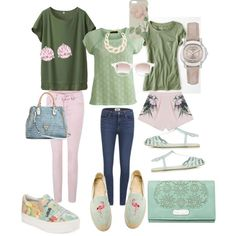 Untitled #17 by megan33ca on Polyvore featuring polyvore, fashion, style, VILA, Uniqlo, American Eagle Outfitters, Paige Denim, Style Stalker, Ash, Soludos, Topshop, GUESS, Rip Curl, Burberry, Kenneth Jay Lane, Swarovski, Chris Benz and Ted Baker