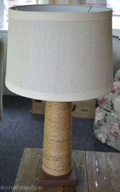 Hometalk :: Chocolate Dipped Lamp