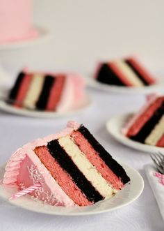 neapolitan wedding cake...pretty!