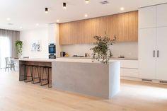 Kitchen & Butlers Pantry Renovation in East Malvern Open Plan Kitchen Living Room, Kitchen Room Design, Modern Kitchen Design, Kitchen Layout, Home Decor Kitchen, Interior Design Kitchen, New Kitchen, Home Kitchens, Kitchen Ideas