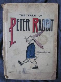 The Tale of Peter Rabbit Vintage Childrens Book 1917 Illustrated