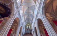 Cathedral Bliss by VladimirTsenev #ErnstStrasser #Belgien #Belgium Bliss, Cathedral, Curtains, Home Decor, Belgium, Blinds, Decoration Home, Room Decor, Interior Design