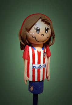 Lápiz fofucha Atlético de Madrid