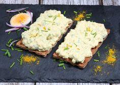 Gezonde eiersalade met ui en bieslook - De keuken van Ursie