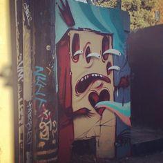 Artist: Eaks. #streetart #denverstreetart