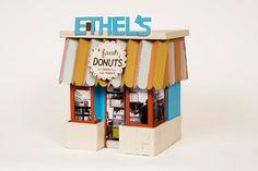 Very cute donut shop!