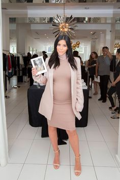 Kim Kardashian at the 'Selfish' book signing at DASH