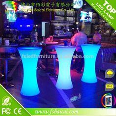 LED Wedding Event Bar Table Led Furniture Cocktail