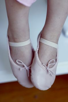 Children ballet. Personal photography journal of three year old Odessa.
