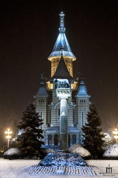 Orthodox Cathedral , Timisoara, Romania, www.romaniasfriends.com