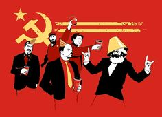"""""""The Communist Party"""" - Threadless.com - Best t-shirts in the world"""