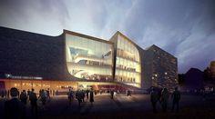 UNStudio's Den Bosch Theatre Design Selected Through Public Voting. The Netherlands.